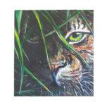 Emerja de la creación de Lovejoy del arte del tigr Bloc