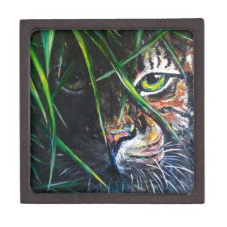 Emerja de la creación de Lovejoy del arte del tigr Cajas De Recuerdo De Calidad