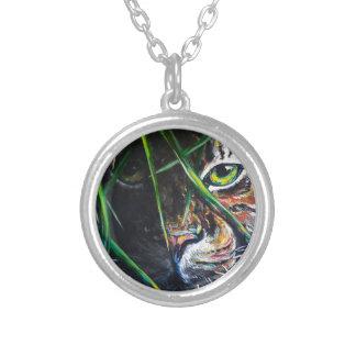 Emerja de la creación de Lovejoy del arte del tigr Collar Personalizado