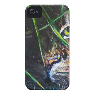 Emerja de la creación de Lovejoy del arte del tigr iPhone 4 Cárcasas