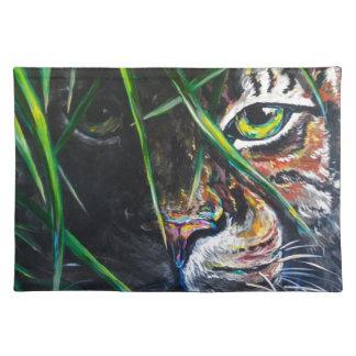 Emerja de la creación de Lovejoy del arte del tigr Mantel Individual