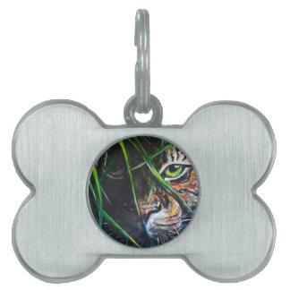 Emerja de la creación de Lovejoy del arte del tigr Placas Mascota