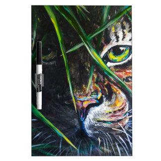 Emerja de la creación de Lovejoy del arte del tigr Pizarras