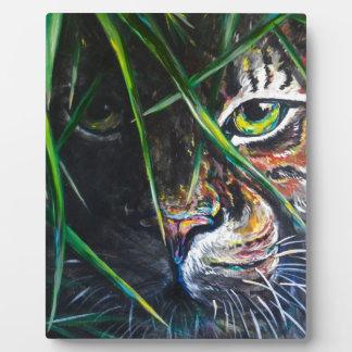 Emerja de la creación de Lovejoy del arte del tigr Placa