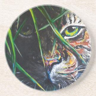 Emerja de la creación de Lovejoy del arte del tigr Posavasos Para Bebidas