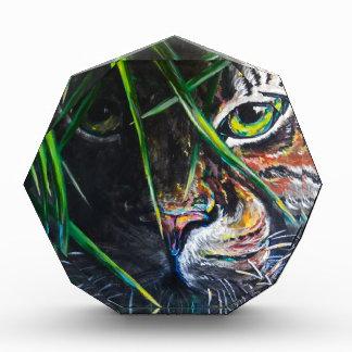 Emerja de la creación de Lovejoy del arte del tigr
