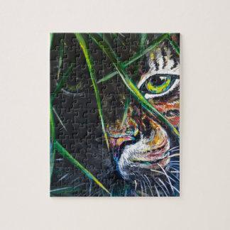 Emerja de la creación de Lovejoy del arte del tigr Puzzle