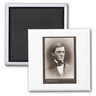Emerson Beauty/Art Quote Gifts Tees & Collectibles Magnet