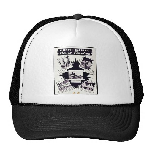 Emerson Electric, News Flashes Trucker Hat