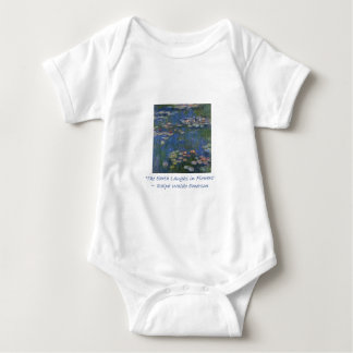 Emerson Flower Quote Baby Bodysuit