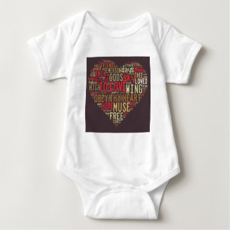 Emerson Give all to love Baby Bodysuit