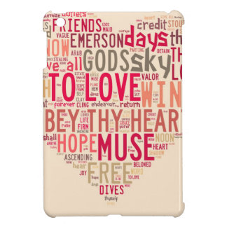 Emerson Give all to love iPad Mini Cover