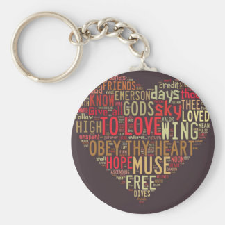 Emerson Give all to love Keychain
