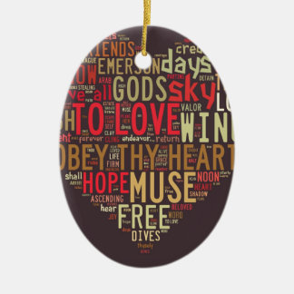 Emerson Give all to love Ornaments