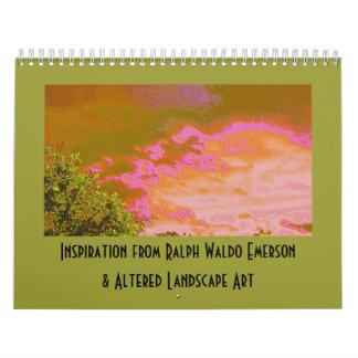 Emerson Inspiration and Altered Art Calendar