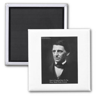 """Emerson """"Life Is Festival"""" Quote Gifts Tees Mugs Refrigerator Magnets"""