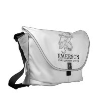 Emerson Messenger Bag (Owl)