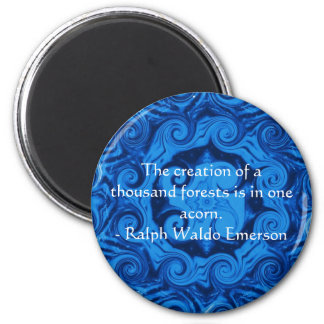 EMERSON Motivation and  Self-Improvement quote Magnet