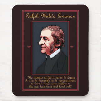 Emerson - Purpose of Life Mouse Pad