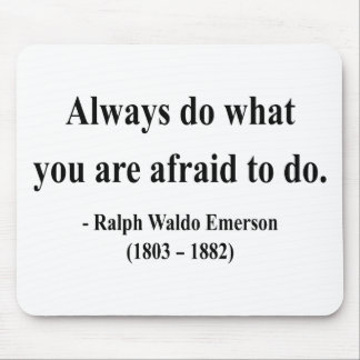 Emerson Quote 10a Mouse Pad