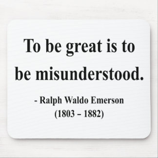Emerson Quote 11a Mouse Pad
