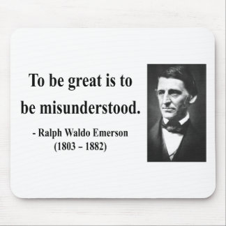 Emerson Quote 11b Mouse Pad