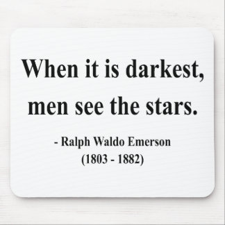 Emerson Quote 12a Mouse Pad
