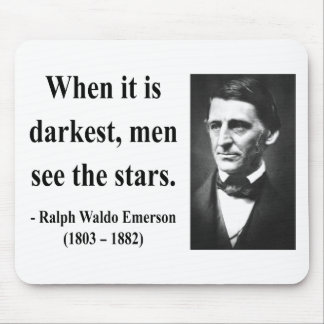 Emerson Quote 12b Mouse Pad