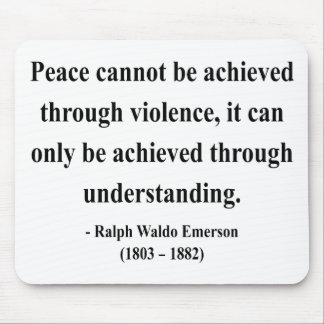 Emerson Quote 13a Mouse Pad