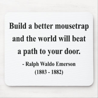 Emerson Quote 15a Mouse Pad