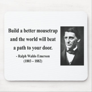 Emerson Quote 15b Mouse Pad