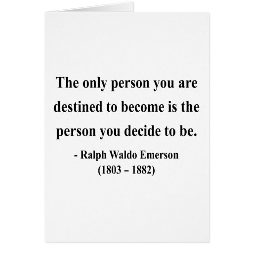 Emerson Quote 1a Greeting Card