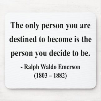 Emerson Quote 1a Mouse Pad