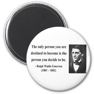 Emerson Quote 1b Refrigerator Magnets