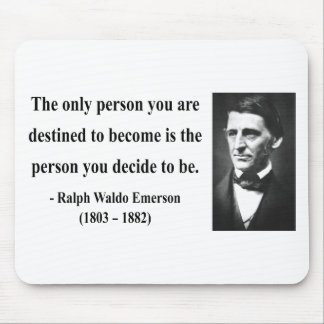 Emerson Quote 1b Mouse Pad