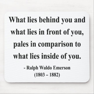 Emerson Quote 2a Mouse Pad