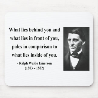 Emerson Quote 2b Mouse Pad