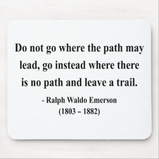 Emerson Quote 3a Mouse Pad