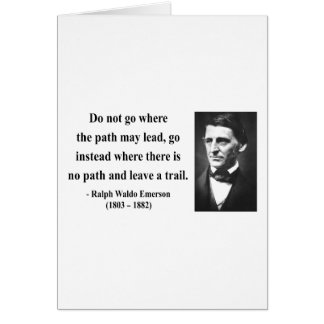 Emerson Quote 3b Greeting Card