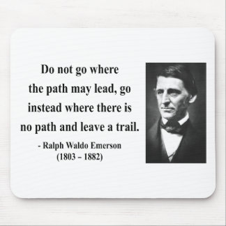 Emerson Quote 3b Mouse Pad