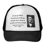Emerson Quote 3b Trucker Hat