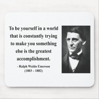 Emerson Quote 4b Mouse Pad
