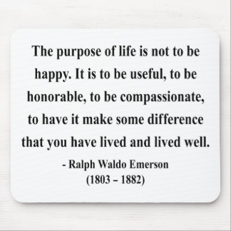 Emerson Quote 5a Mouse Pad