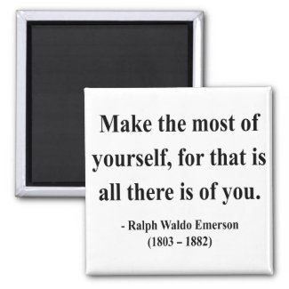 Emerson Quote 6a magnet