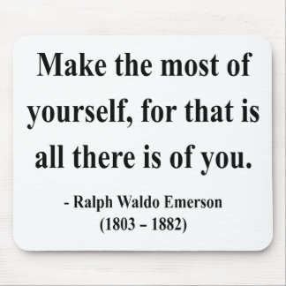 Emerson Quote 6a Mouse Pad