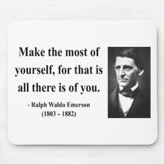 Emerson Quote 6b Mouse Pad