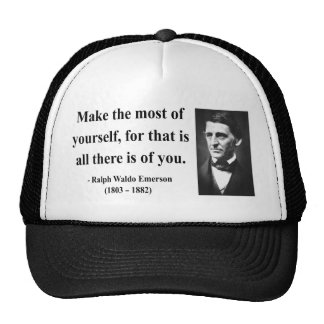 Emerson Quote 6b Trucker Hat