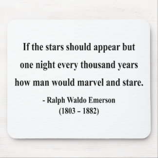 Emerson Quote 7a Mouse Pad