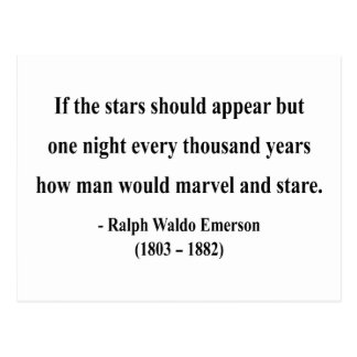 Emerson Quote 7a Post Cards