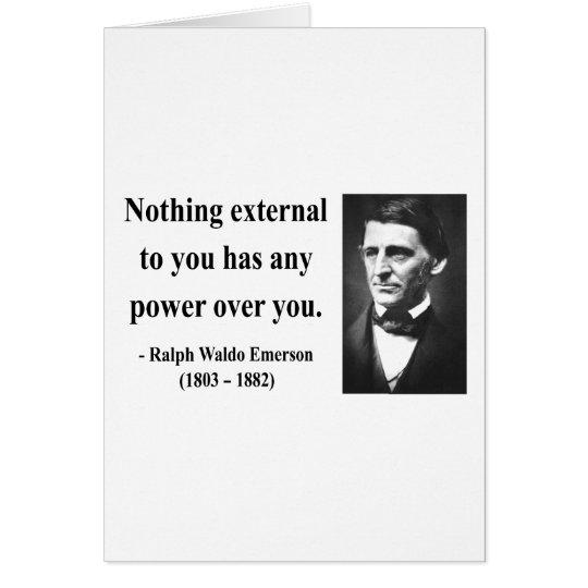 Emerson Quote 8b Card